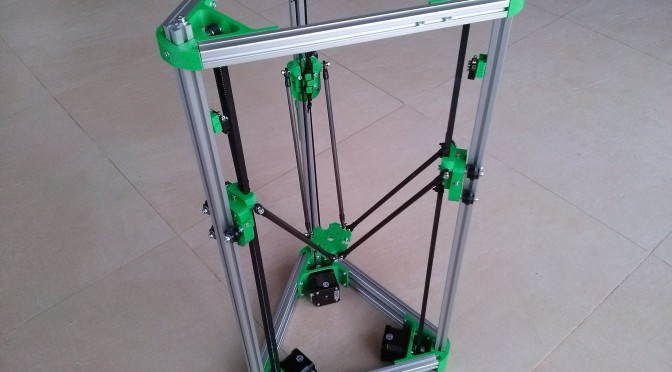 Think3DPrint3D Kossel Mini Kit: Abertura, Análise e Upgrade