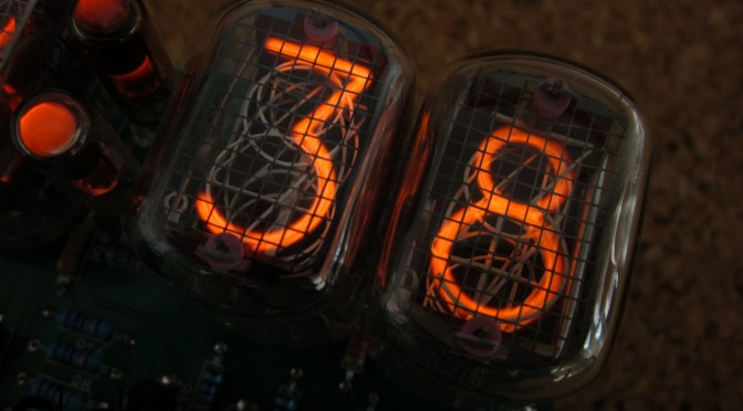 Playing with nixies: Yet another Nixie Clock