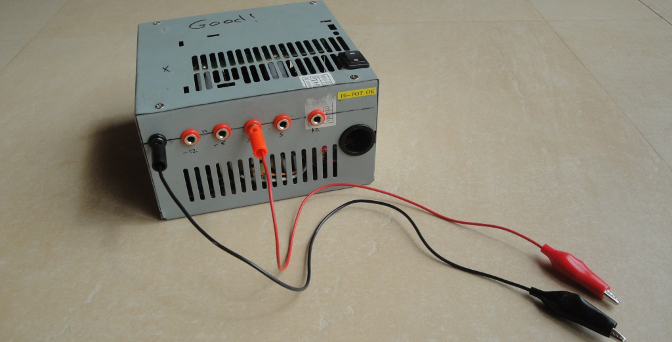 How to make a lab power supply from an ATX power supply