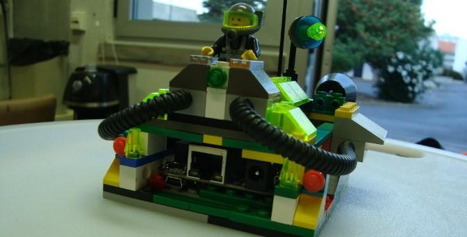 Caixa Lego para BeagleBone