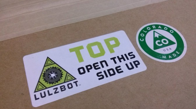 LulzBot TAZ 4: Unboxing and review